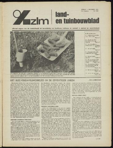 Zeeuwsch landbouwblad ... ZLM land- en tuinbouwblad 1972-12-01