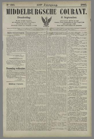 Middelburgsche Courant 1883-09-06