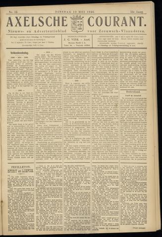 Axelsche Courant 1936-05-19