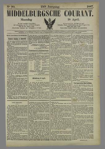 Middelburgsche Courant 1887-04-18