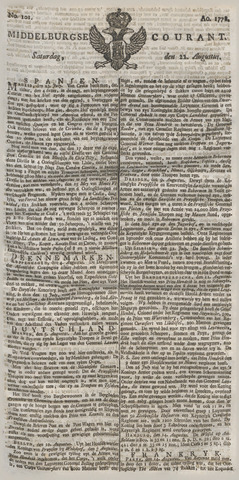 Middelburgsche Courant 1778-08-22