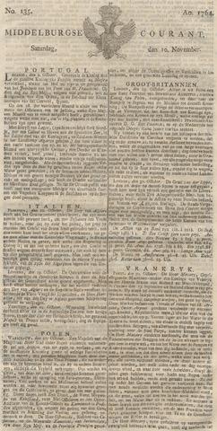 Middelburgsche Courant 1764-11-10