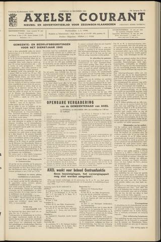 Axelsche Courant 1964-12-19