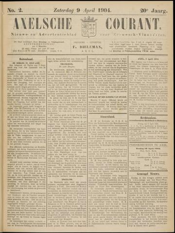 Axelsche Courant 1904-04-09