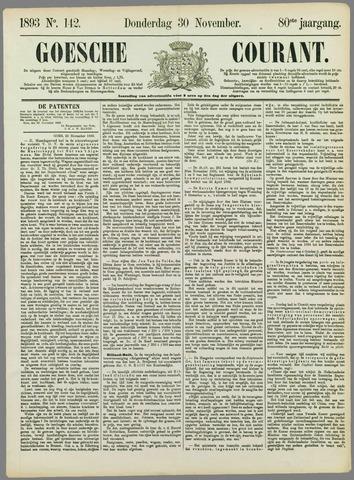 Goessche Courant 1893-11-30