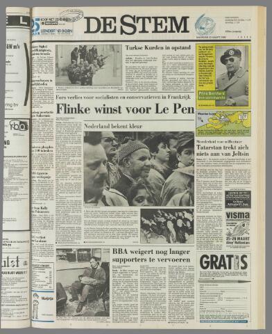 de Stem 1992-03-23