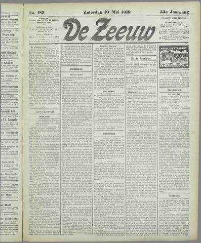 De Zeeuw. Christelijk-historisch nieuwsblad voor Zeeland 1919-05-10