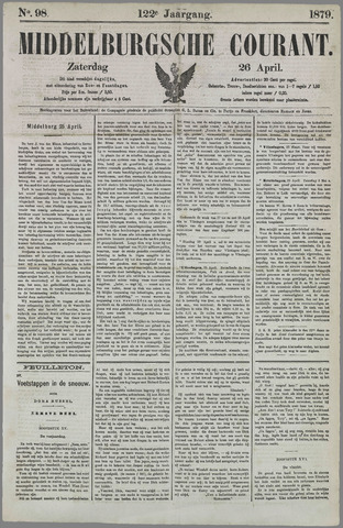 Middelburgsche Courant 1879-04-26