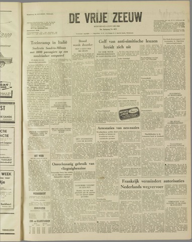 de Vrije Zeeuw 1960-01-06