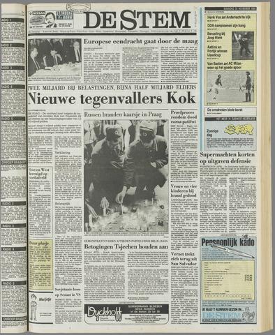 de Stem 1989-11-20