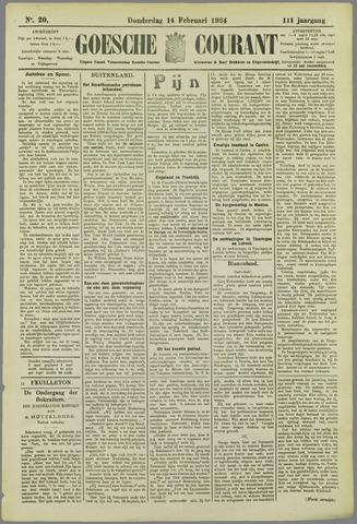 Goessche Courant 1924-02-14