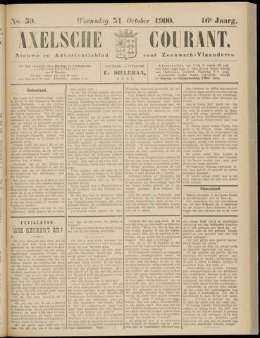 Axelsche Courant 1900-10-31