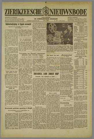 Zierikzeesche Nieuwsbode 1952-08-30
