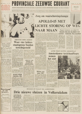 Provinciale Zeeuwse Courant 1971-07-27
