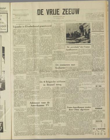 de Vrije Zeeuw 1961-06-27