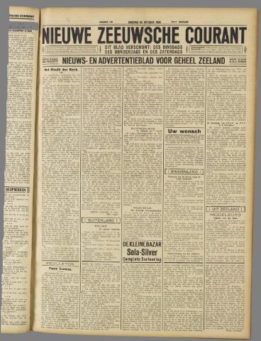 Nieuwe Zeeuwsche Courant 1932-10-25