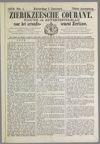 Zierikzeesche Courant 1876