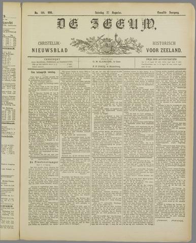 De Zeeuw. Christelijk-historisch nieuwsblad voor Zeeland 1898-08-27