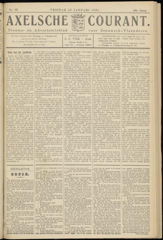 Axelsche Courant 1931-01-16