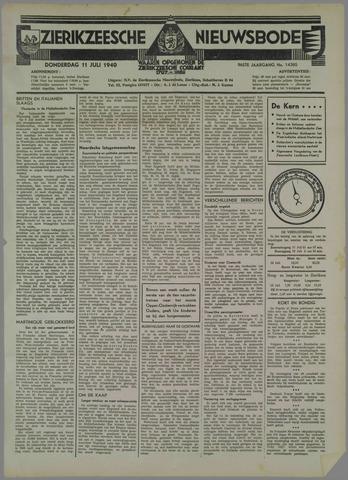 Zierikzeesche Nieuwsbode 1940-07-11
