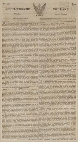Middelburgsche Courant 1827-02-27