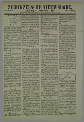 Zierikzeesche Nieuwsbode 1882-02-21