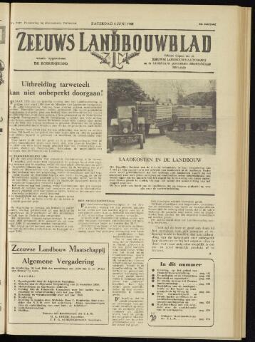 Zeeuwsch landbouwblad ... ZLM land- en tuinbouwblad 1960-06-04