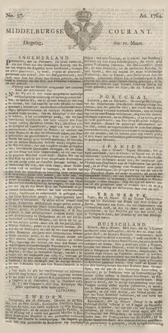 Middelburgsche Courant 1764-03-27