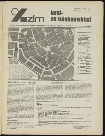 Zeeuwsch landbouwblad ... ZLM land- en tuinbouwblad 1972-11-24