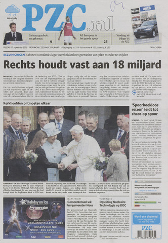 Provinciale Zeeuwse Courant 2010-09-17