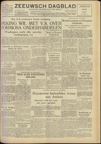 Zeeuwsch Dagblad 1955-04-25