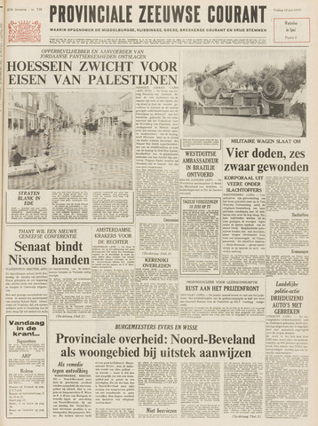 Provinciale Zeeuwse Courant 1970-06-12