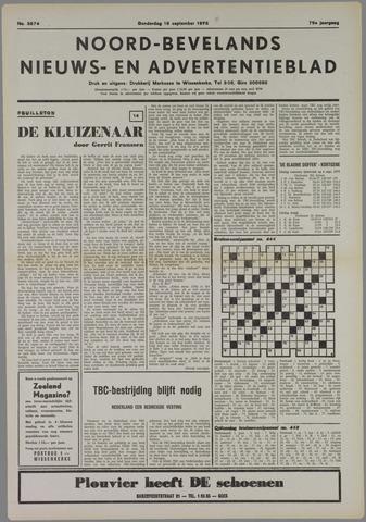 Noord-Bevelands Nieuws- en advertentieblad 1975-09-18