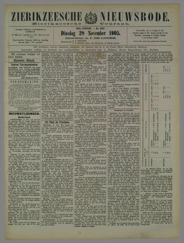 Zierikzeesche Nieuwsbode 1905-11-28