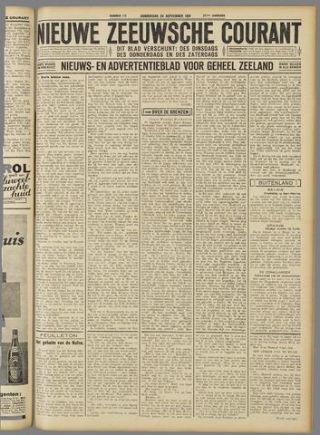 Nieuwe Zeeuwsche Courant 1931-09-24