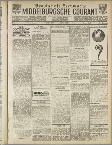 Middelburgsche Courant 1930-11-13