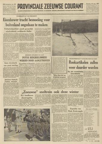 Provinciale Zeeuwse Courant 1957-08-20