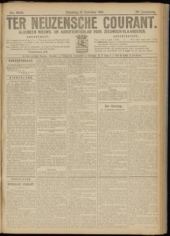 Ter Neuzensche Courant. Algemeen Nieuws- en Advertentieblad voor Zeeuwsch-Vlaanderen / Neuzensche Courant ... (idem) / (Algemeen) nieuws en advertentieblad voor Zeeuwsch-Vlaanderen 1916-10-17
