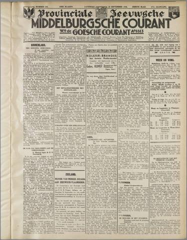 Middelburgsche Courant 1934-09-22