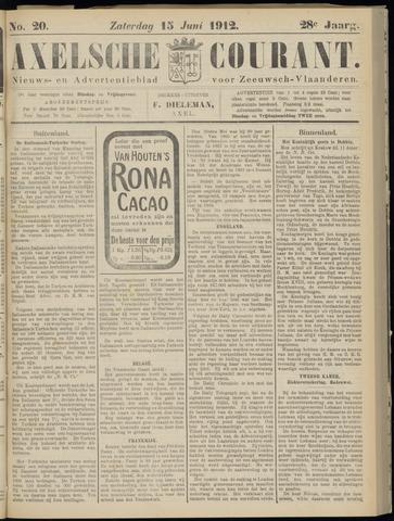 Axelsche Courant 1912-06-15