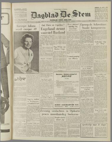 de Stem 1958-04-29