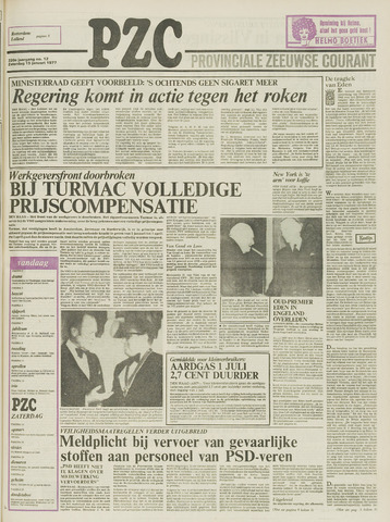 Provinciale Zeeuwse Courant 1977-01-15