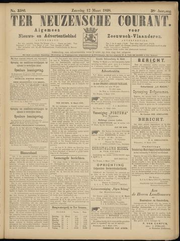 Ter Neuzensche Courant. Algemeen Nieuws- en Advertentieblad voor Zeeuwsch-Vlaanderen / Neuzensche Courant ... (idem) / (Algemeen) nieuws en advertentieblad voor Zeeuwsch-Vlaanderen 1898-03-12