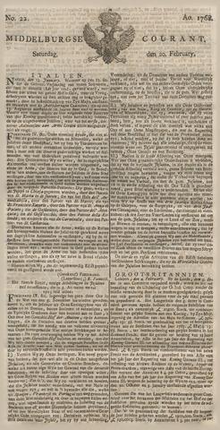 Middelburgsche Courant 1768-02-20