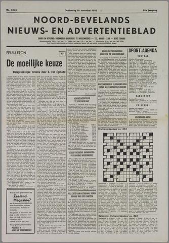 Noord-Bevelands Nieuws- en advertentieblad 1982-11-18