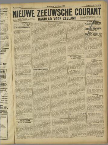 Nieuwe Zeeuwsche Courant 1921-03-16