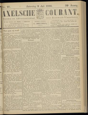 Axelsche Courant 1916-07-08