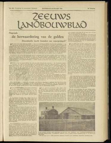 Zeeuwsch landbouwblad ... ZLM land- en tuinbouwblad 1961-03-25