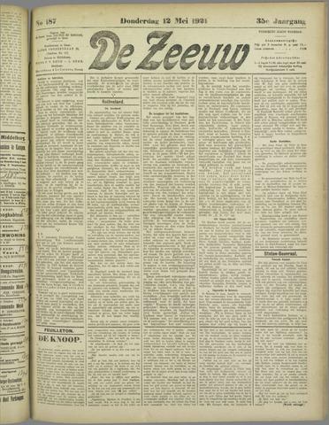 De Zeeuw. Christelijk-historisch nieuwsblad voor Zeeland 1921-05-12