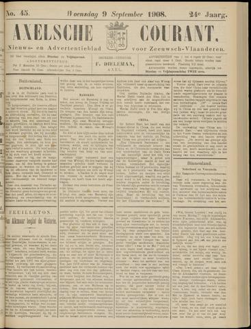 Axelsche Courant 1908-09-09